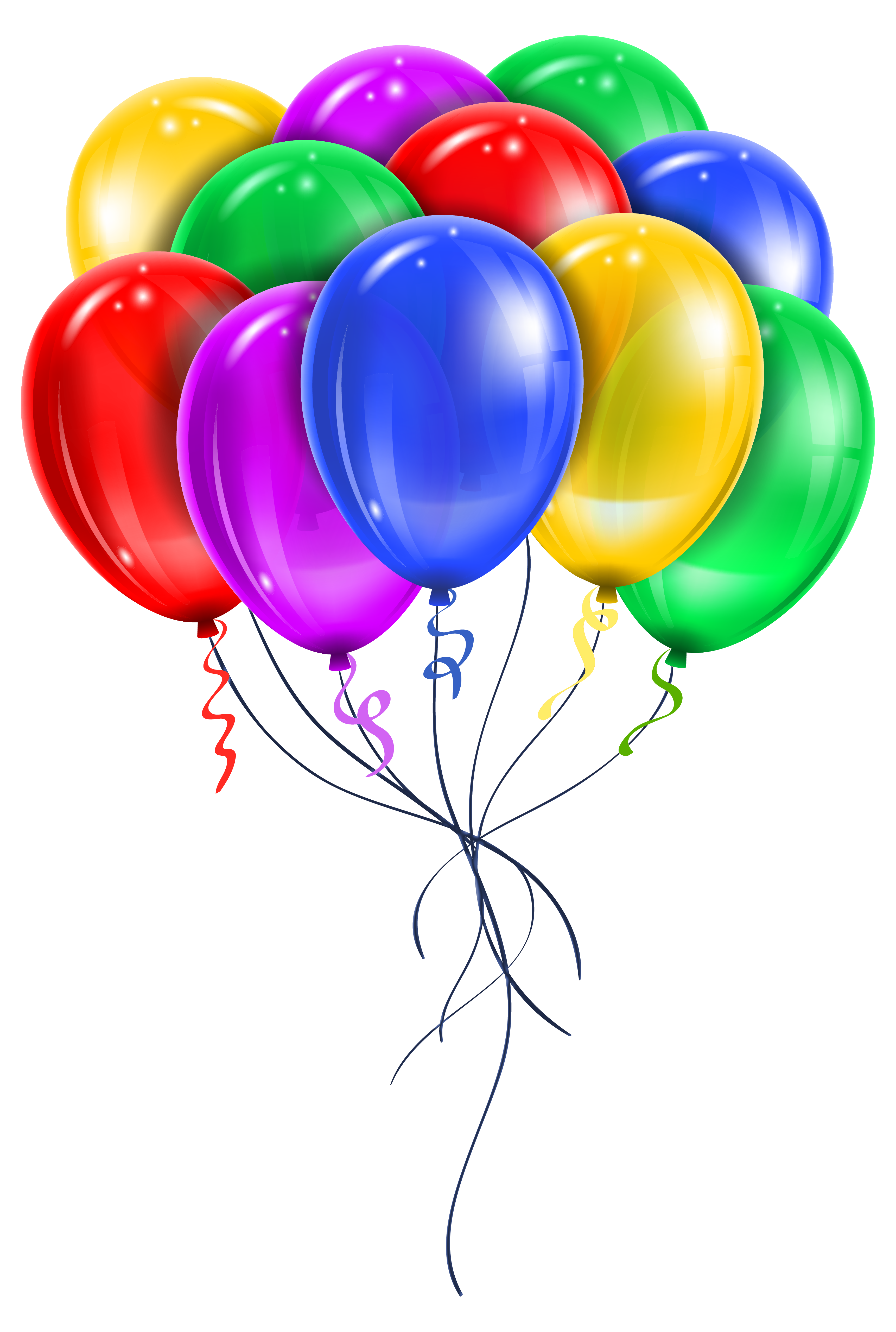 Transparent Multi Color Balloons Png Picture Clipart Happy Birthday Signs Birthday Balloons Pictures Happy Birthday Balloons