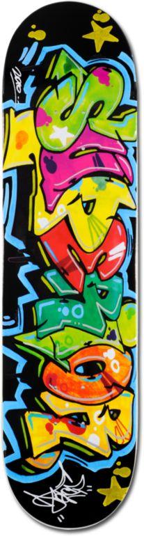 1dc4ca81c46 SUPERIOR Superior Cope 2 Black 7.87 Skateboard Deck  29.95