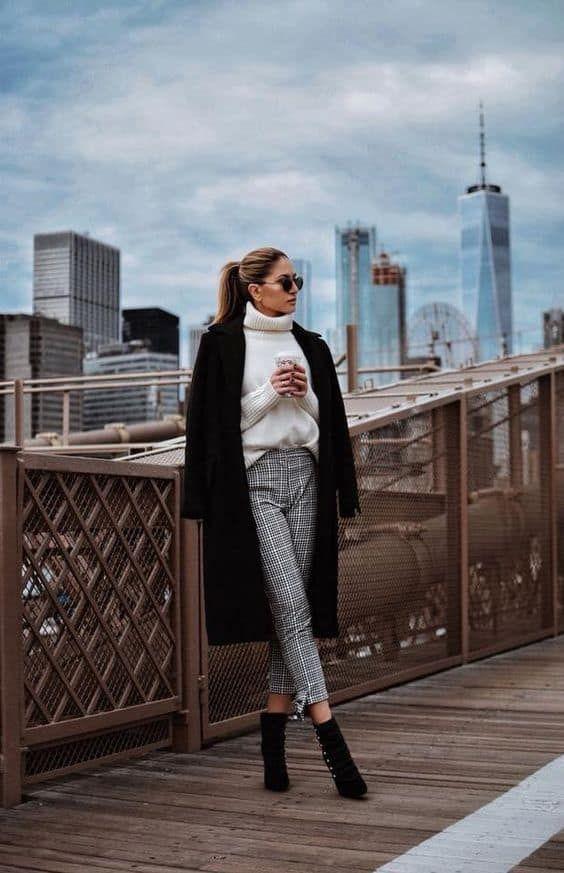 Las Mejores Imágenes De Outfits Para Invierno 2019 Moda Ropa De Trabajo Ropa De Invierno Mujer Ropa Oficina Invierno