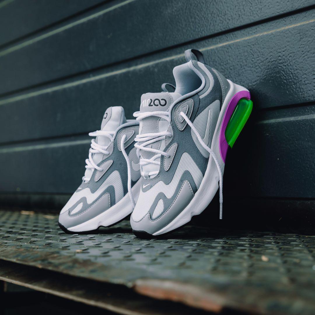 Trend Nike Air Max 90 87 Damen Schuhe grün rot :