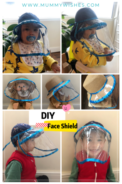 DIY Face Shield (Printable Pattern) Mummy Wishes in 2020