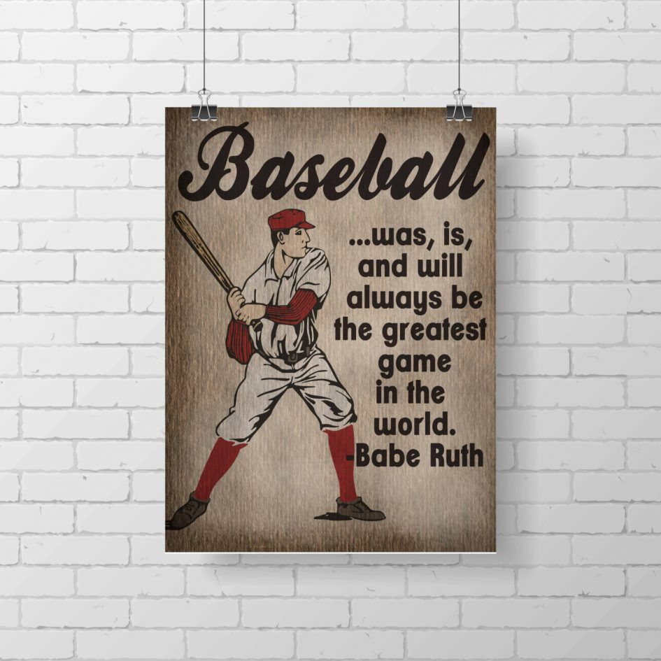 Vintage Baseball Decor For Pictures With A Combination Of Beautiful Charming Style Design As Well Ideal Childrens Room