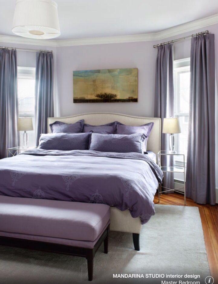 Benjamin moore hint of violet 2114 60 master bedroom mandarina studio interior design