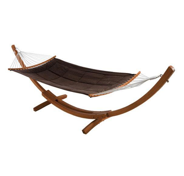 Hamaca de madera bali leroy merlin hamacas y tumbonas for Casas de jardin leroy merlin