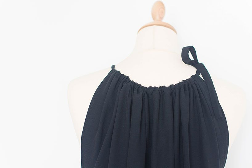 Langes Sommerkleid nähen #summerdresses