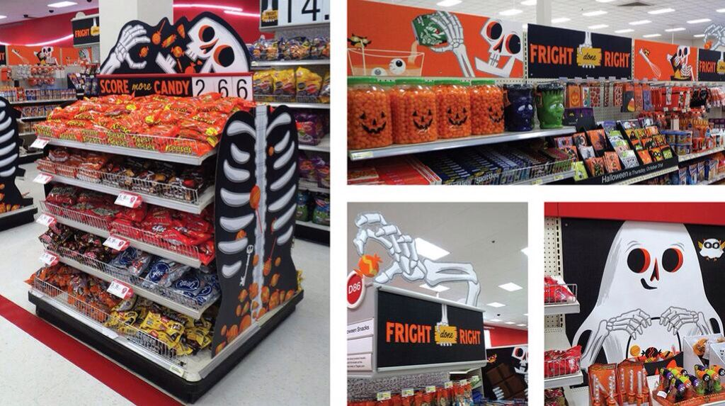 Target Fright Done Right Halloween 2013 Environmental Graphics