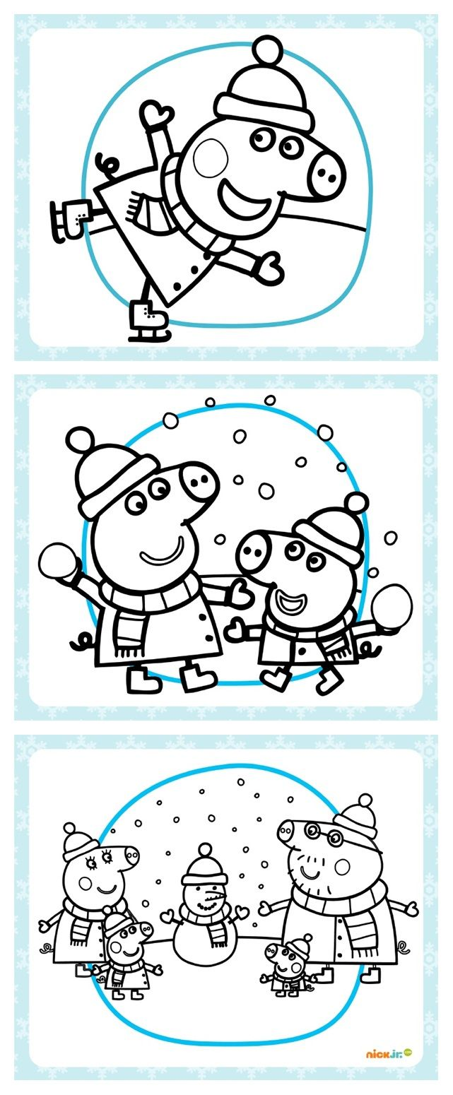 Pin By Jennifer Nowoselsky On Aaa Daycare Peppa Pig Coloring Pages Peppa Pig Colouring Preschool Fun [ 1550 x 641 Pixel ]