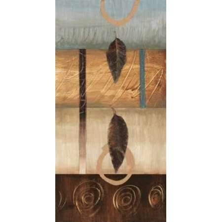 Free Fall II Canvas Art - Laurie Fields (10 x 20)