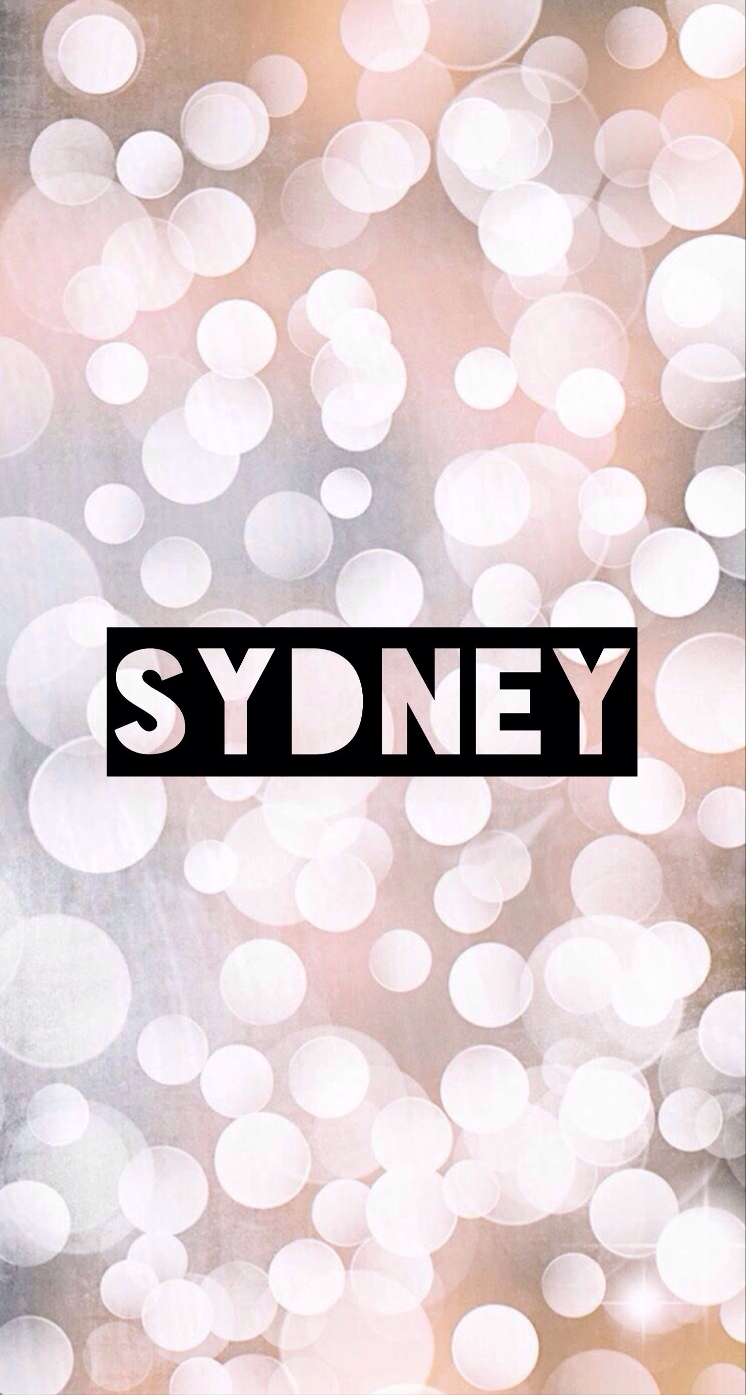 Name Artwork Sydney Name Wallpaper Southern Baby Names Southern Baby