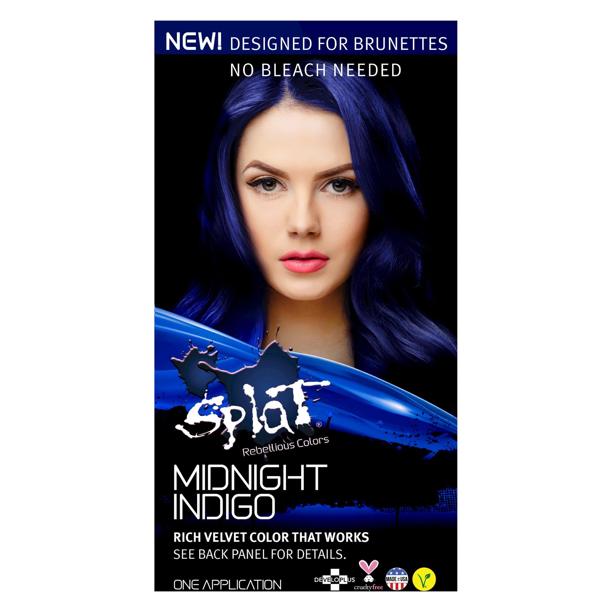 Splat Midnight Hair Color Indigo 6 0 Fl Oz In 2020 Splat Midnight Hair Color Midnight Hair Splat Midnight