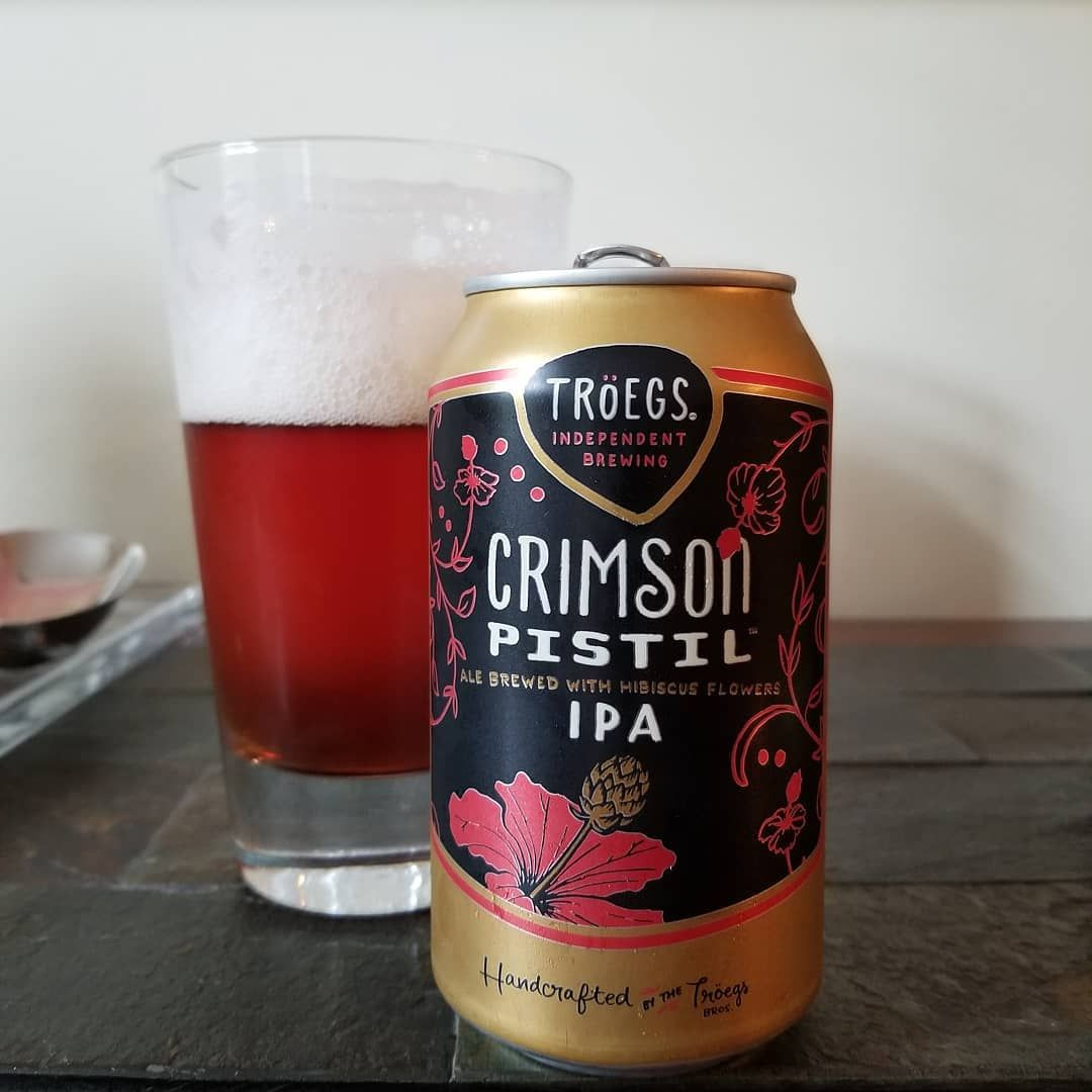 Troegsbeer Crimson Pistil Was An Awesome Discovery Essentially A Hibiscus Ipa Dry On The Palate And Perfect On This Humid Day Crimso Ipa Palate Craft Beer