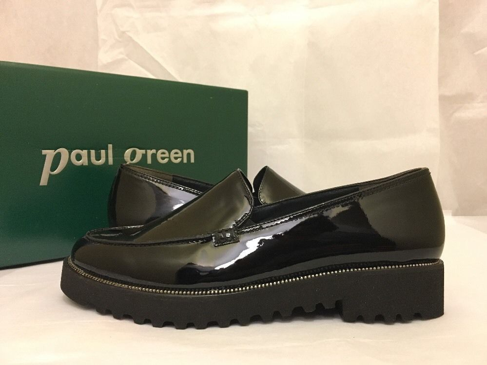 Paul Green Ariana Black Patent Leather