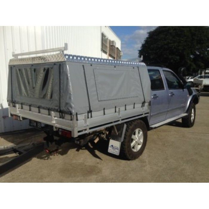 Canvas Ute Canopy - Dual Cab Tray | Tacoma flat bed | Pinterest ...