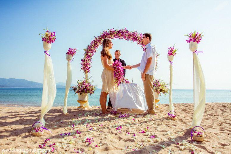 Small Budget Cheap Beach Wedding Ceremony Phuket Wedding