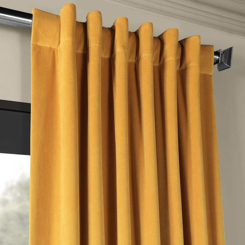 Signature Fool S Gold Blackout Velvet Curtain Velvet Curtains Custom Drapes Living Room Decor Curtains #thermal #curtains #for #living #room