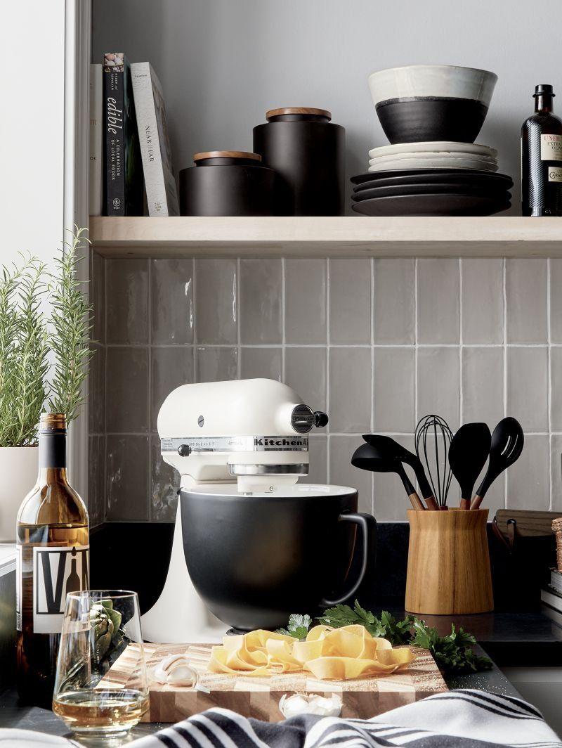 Customize Your Kitchenaid Stand Mixer With Stylish Matte Black