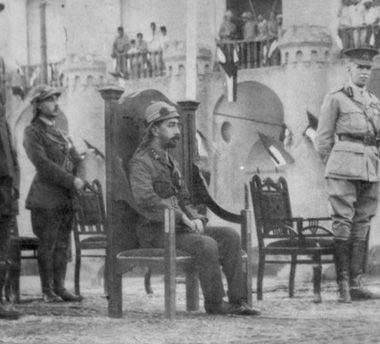 Coronation Of Prince Faisal As King Of Iraq 1921 Once Arab States