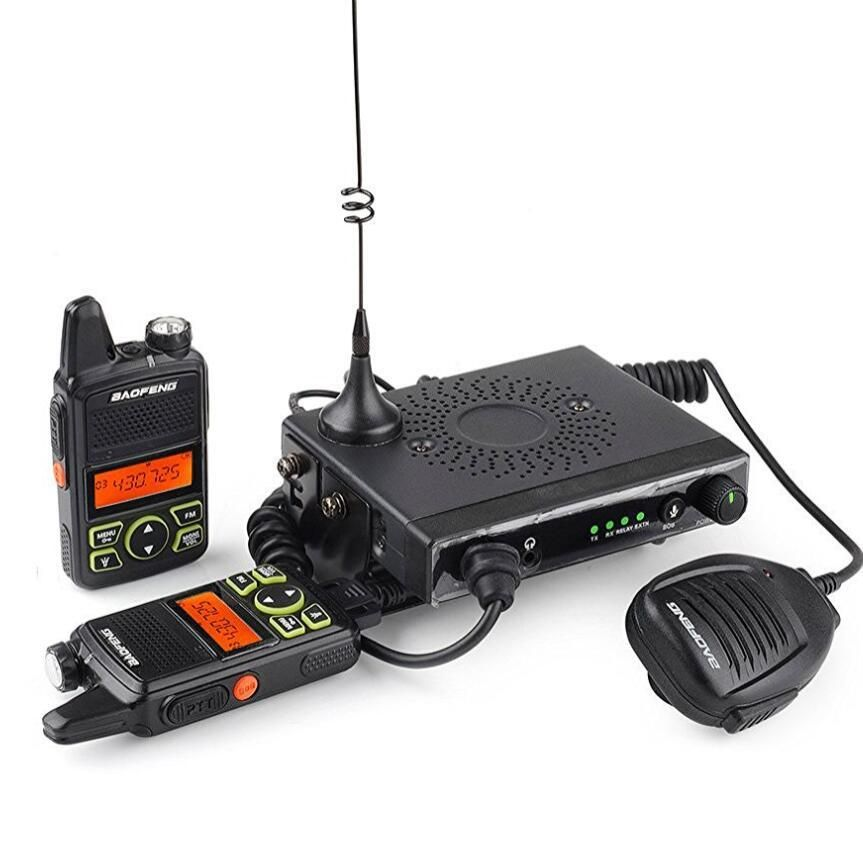 BAOFENG T1 Car Mobile Transceiver 15W UHF 400-470mhz With 2