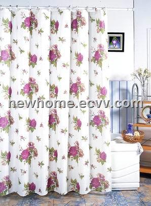 Polyester Peva Pvc Eva Shower Curtain Nhp 3101 China Shower