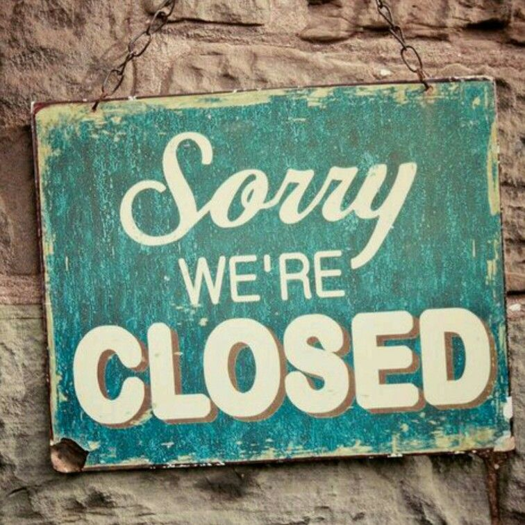 We will be CLOSED today. Sorry for any inconvenience! We reopen ...