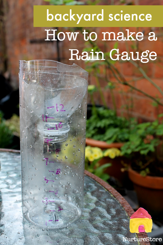 Brilliant backyard science experiment: how to make a rain gauge, homemade weather station