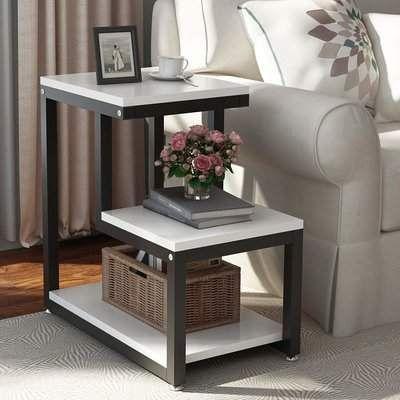 Williston Forge Armenta End Table Wayfair Chair Side Table Rustic End Tables Modern End Tables