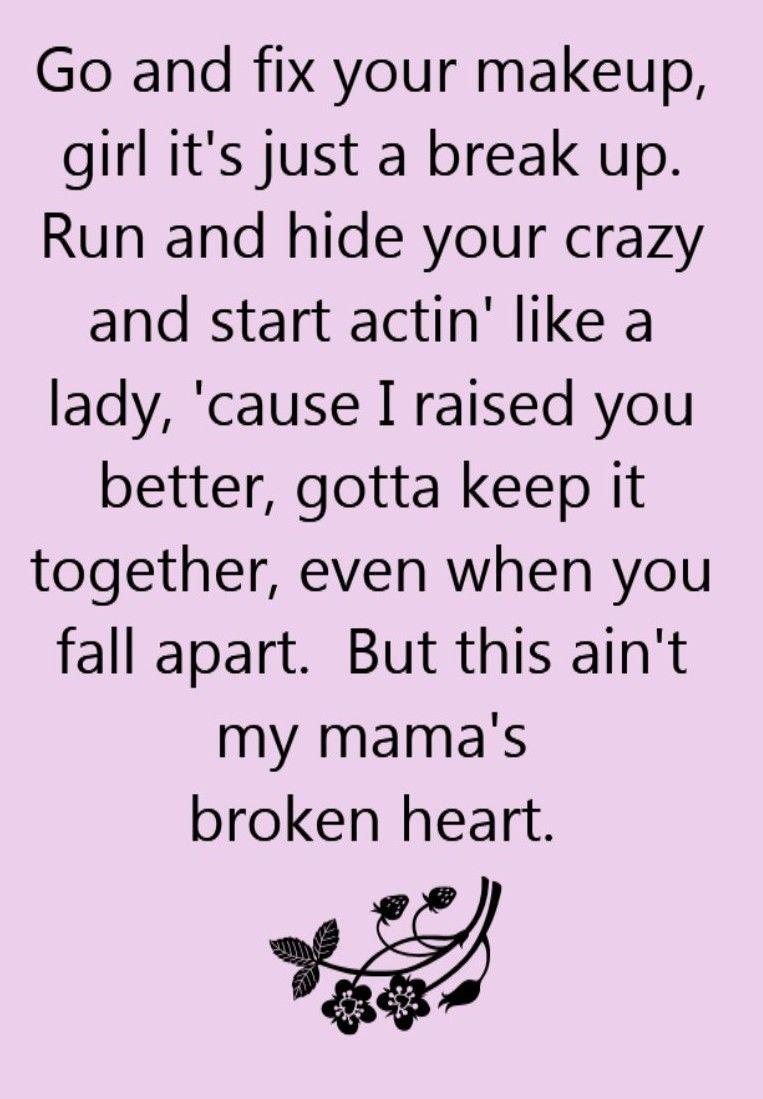 Miranda Lambert - Mama\'s Broken Heart - song lyrics, song quotes ...