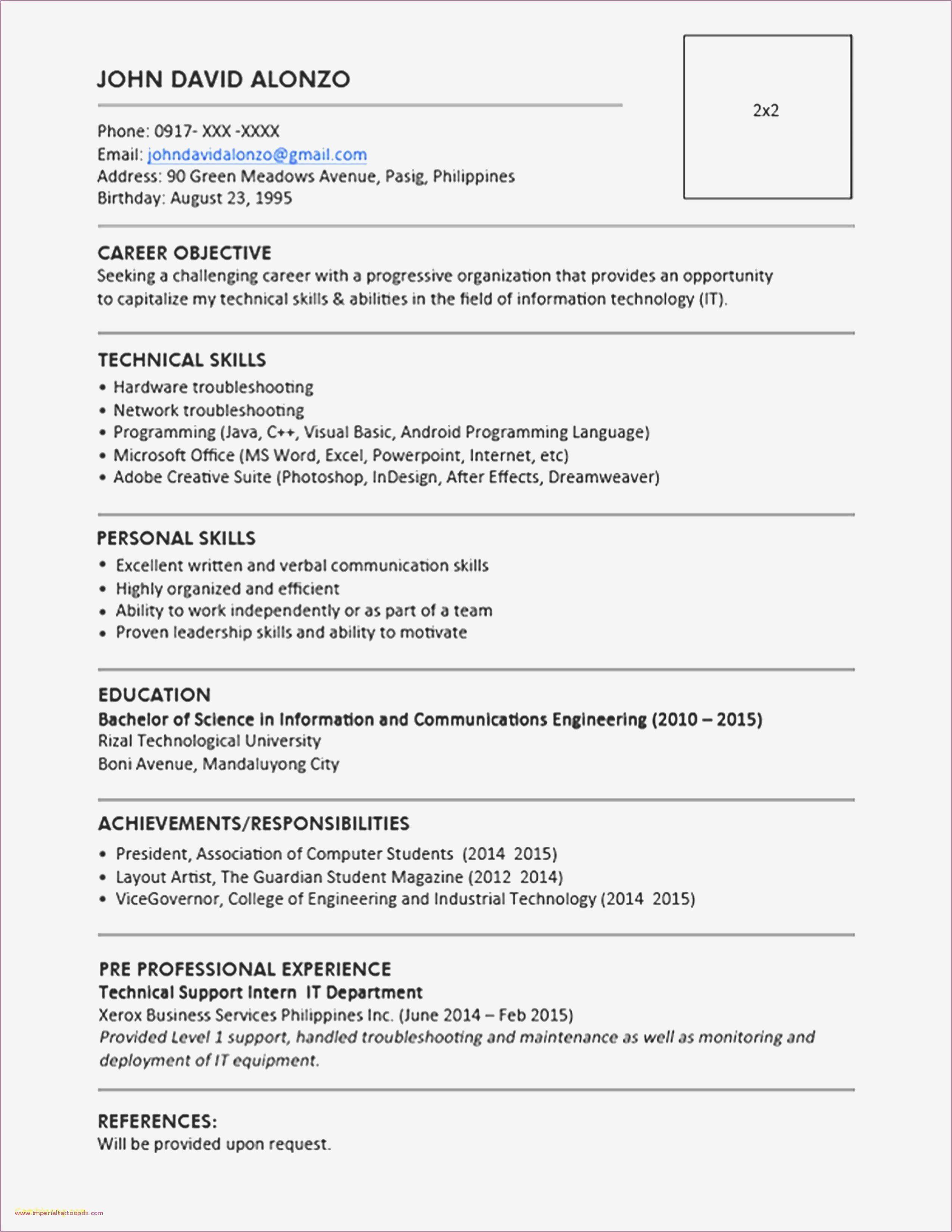 Desktop Support Resume Samples Luxury Sample Resume Format Karate Do Nrw De In 2020 Indesign Resume Template Resume Template Word Resume Template Free