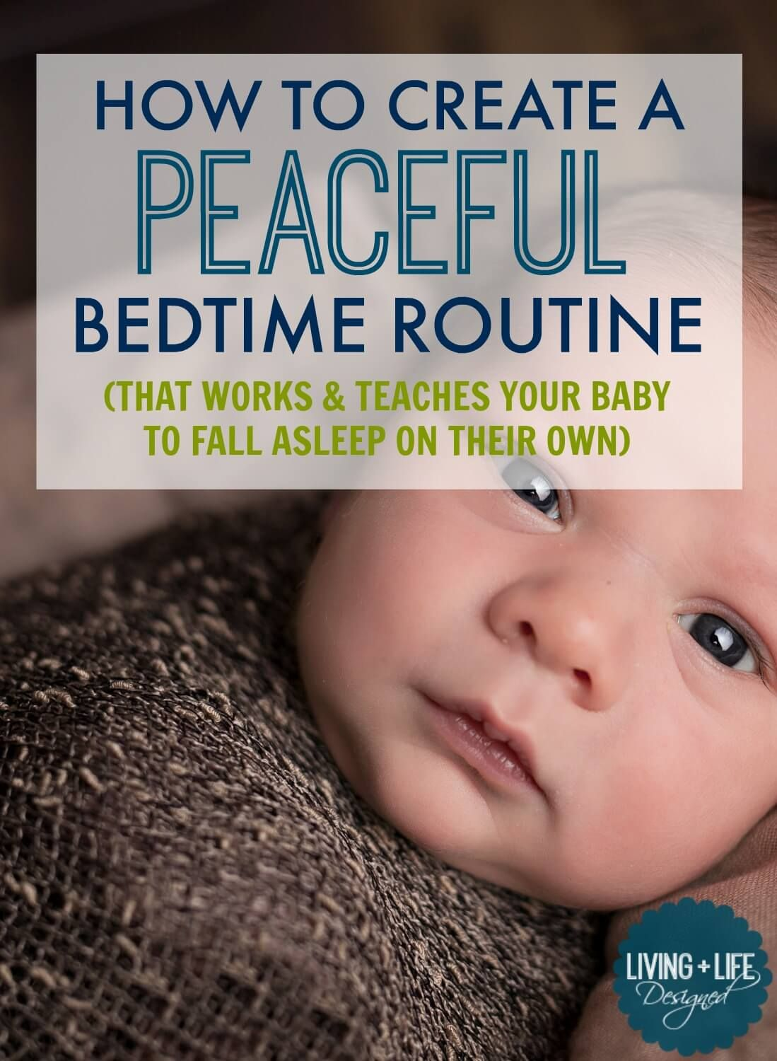 Bedtime Routine Teach your Baby to Fall Asleep On Their