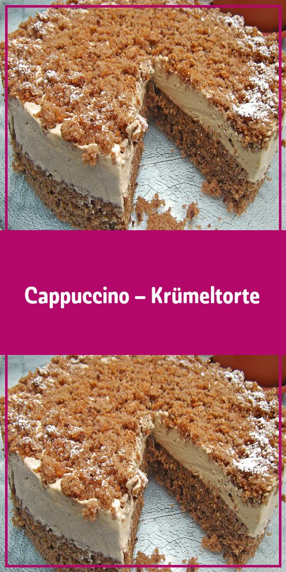 Cappuccino – Krümeltorte #schnelletortenrezepte