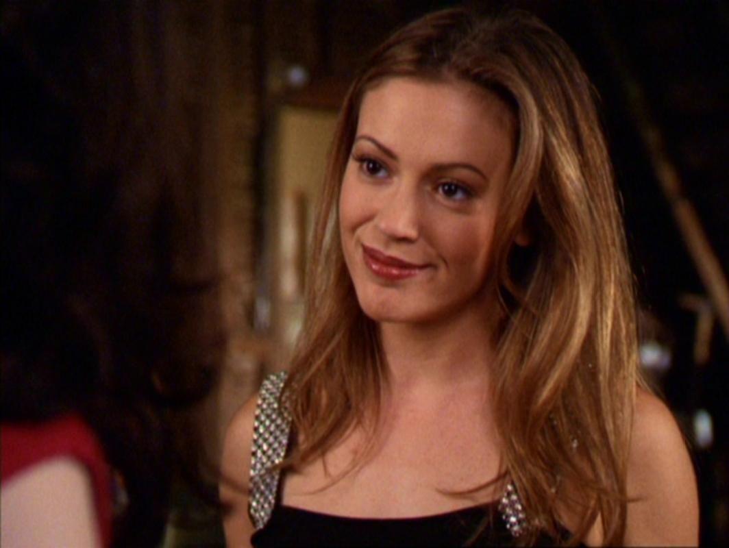 Charmed Alyssa Milano As Phoebe Halliwell People