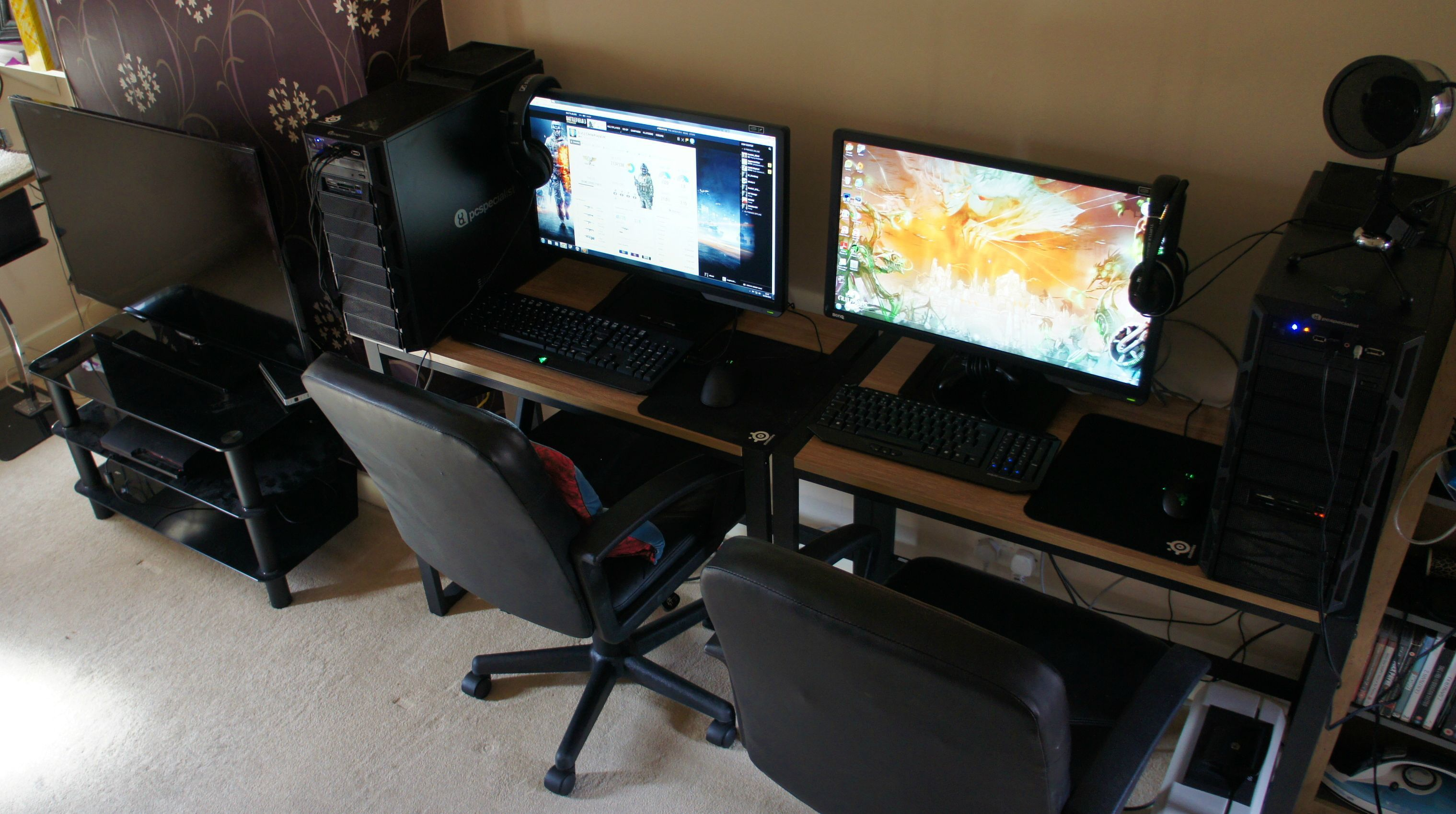office wooden paragon desktop setups gaming ergonomic exposed staffers legs small best adjustable portable desk home design setup posh our height