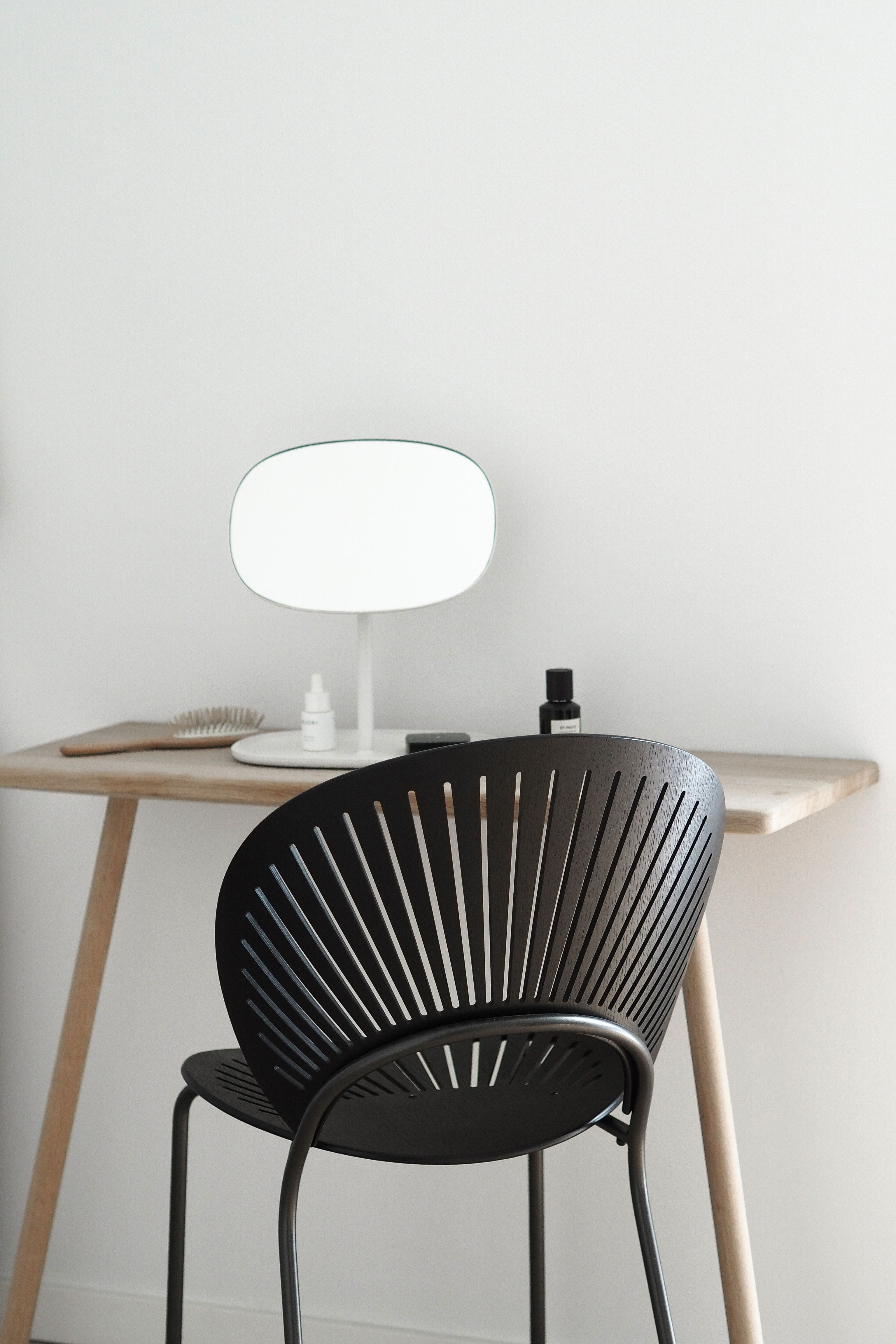 Fredericia the trinidad chair by nanna ditzel styled and shot hannah trickett hannahinthehouse in her minimalist dressing room also for  th rh pinterest