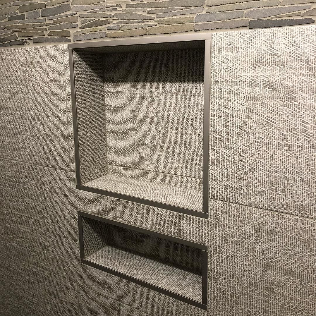 Shower Niche Trends Designs Designer Drains Shower Niche Bathroom Remodel Master Small Bathroom Remodel