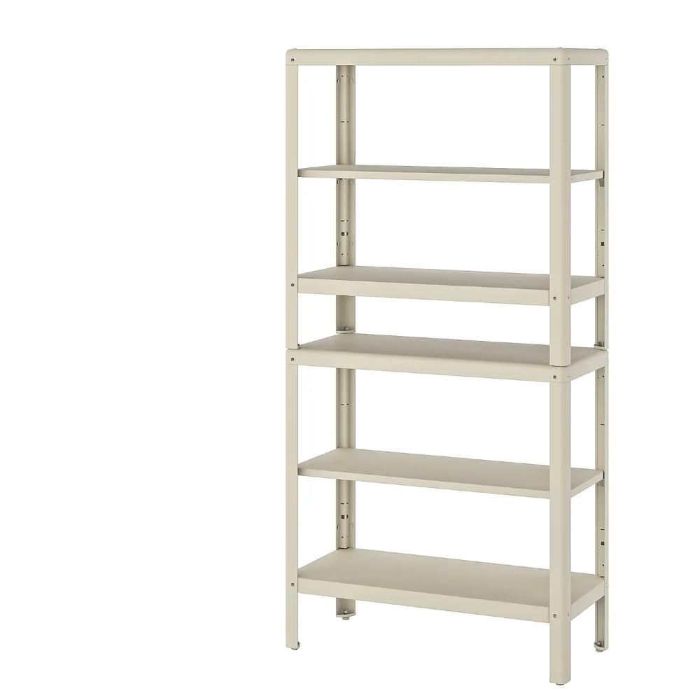 KOLBJÖRN Shelf unit, indoor/outdoor 31 1/2x13 3/4x63 3/4