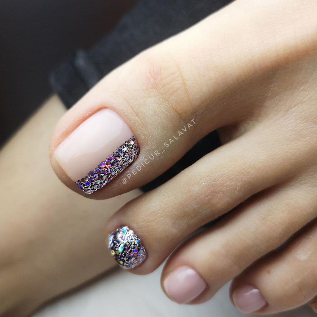 Foxynails Manikyur Dizajn Nogtej In 2020 Cute Toe Nails