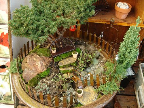 17 Best 1000 images about Fairy garden on Pinterest Diy fairy house