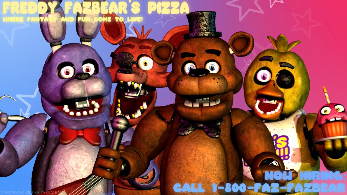 Sfm Freddy Fazbear S Pizza By Williamwee Freddy Fazbear Fnaf Fnaf Freddy