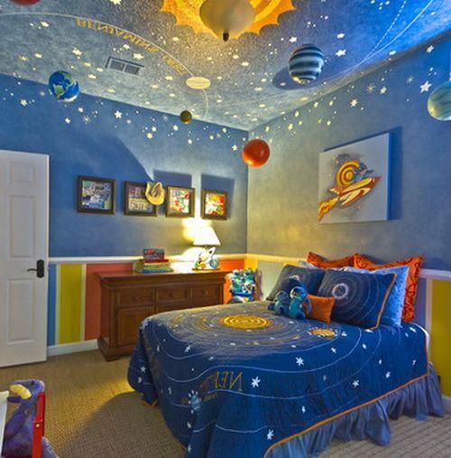 50 Amazing Painted Ceiling Designs Ideas Quarto Espacial