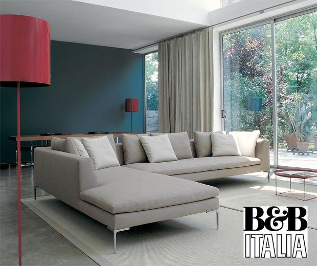 B\B Italia - Charles Sofa (design Antonio Citterio) Muebles - design wohnzimmer couch
