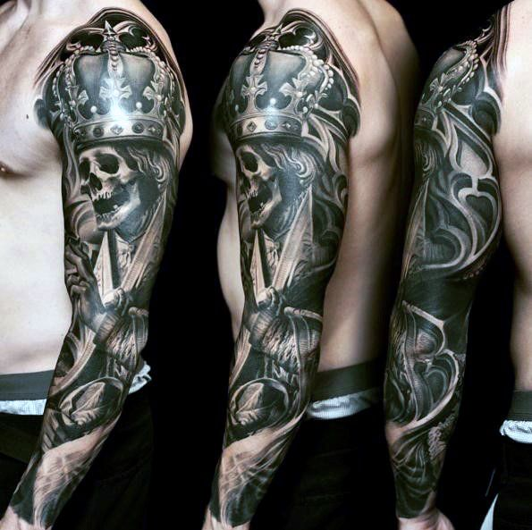 5e3ee8084abc9 100 Badass Tattoos For Guys - Masculine Design Ideas | Tattoo ideas ...