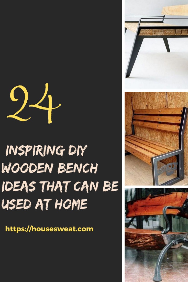 22 Motivate Diy Wooden Bench Ideas That Can Be Used At Home In 2020 Wooden Diy Wooden Bench Wooden