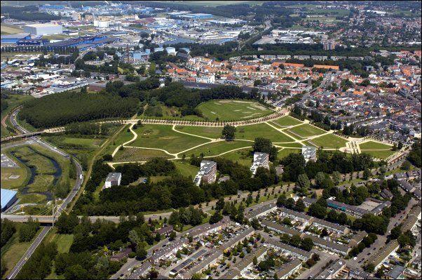 Luchtfoto Bergen op Zoom Kijk in de Pot