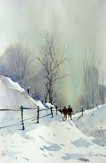 Pin By Olga Lyalina On Art Watercolor Paintings Watercolor Art