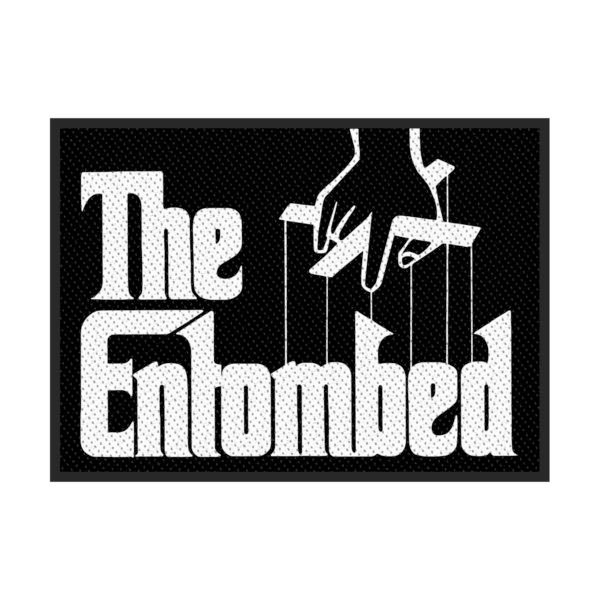 Entombed Godfather Logo Woven Patch Ep263 Import Patch Logo Patches Logos