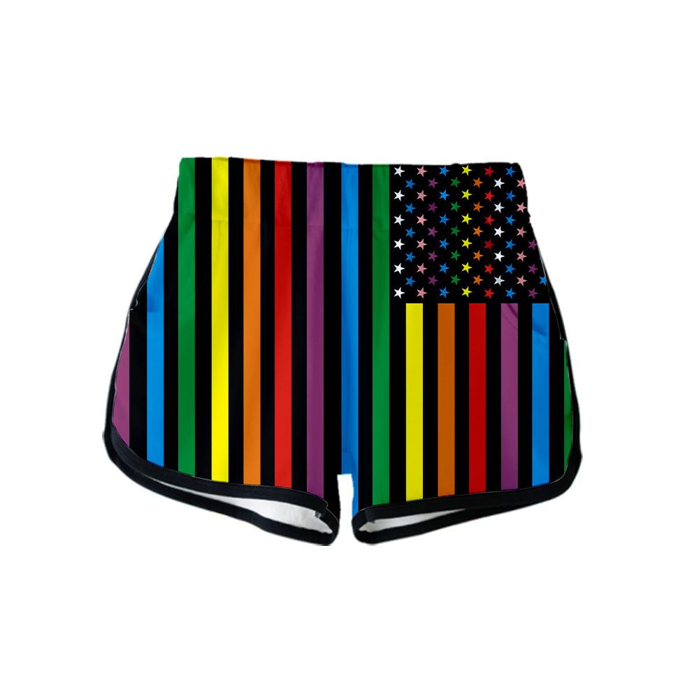 Pin on LGBTQ+ Pride Shorts