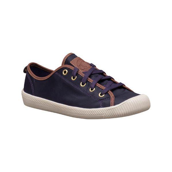 Women's Palladium Flex Lace TX Sneaker - Purple Velvet Casual (76 CAD) ❤ liked on Polyvore featuring shoes, sneakers, purple, fancy shoes, lace shoes, lacy shoes, dressy sneakers and lace sneakers