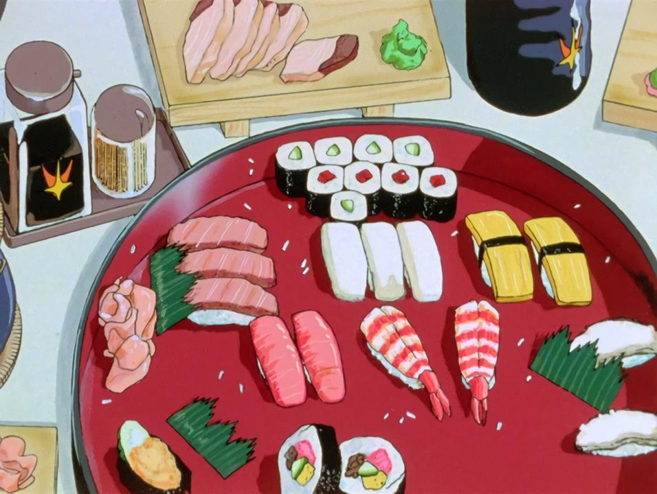 Food In Anime Aesthetic Anime 90s Anime Anime Scenery