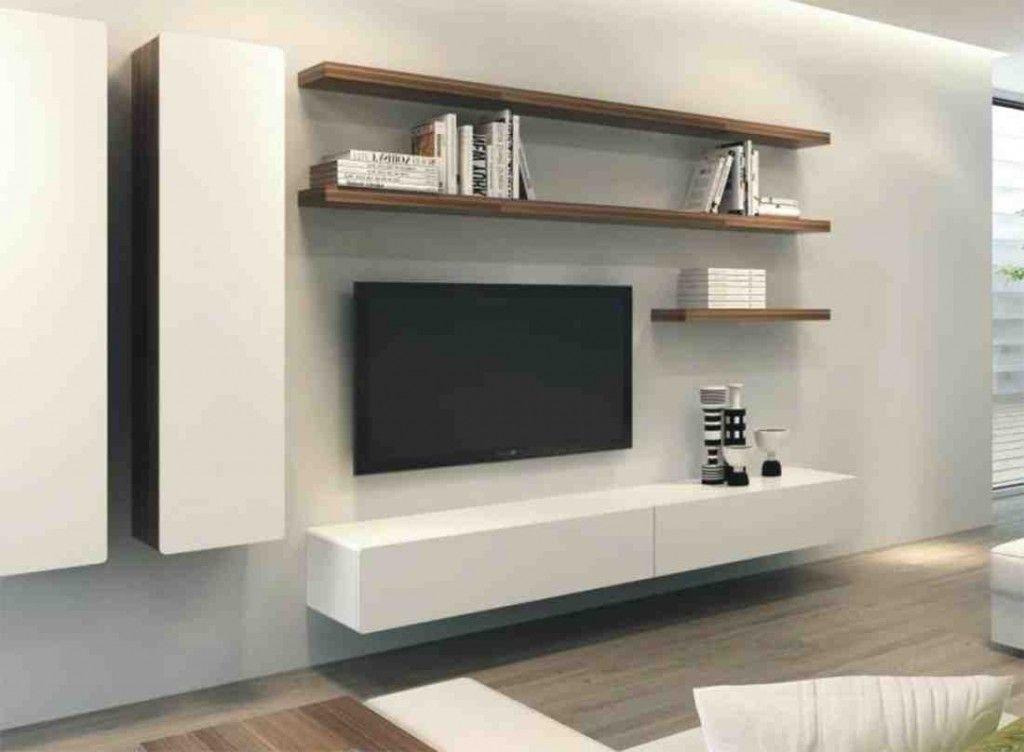 Floating Entertainment Cabinet Rumah Desain Furnitur Ide Dapur