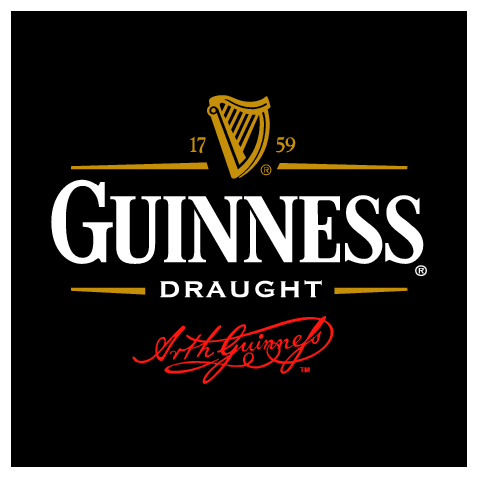 Dg Well I Like Guinness And I Knew They Would Have A Very Classy Logo And Branding Great Use Of Black And Dark Minimal Highlights Provide The Contrast Bier